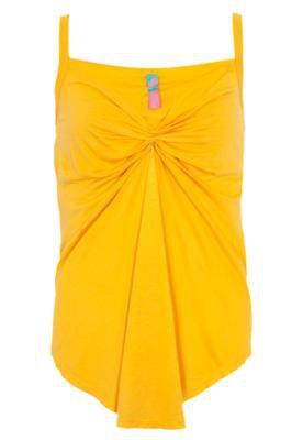 Blusa Loose Pregas Amarela - Coca Cola Clothing