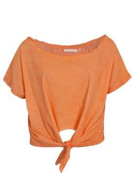 Blusa Dress To Renda Laranja