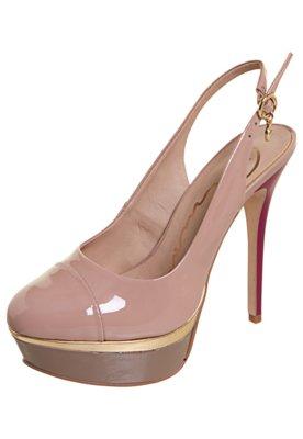 Sapato Scarpin Carmim Pingente Rosa