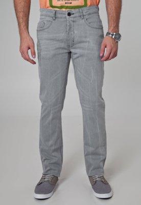 Calça Jeans TNG Skinny Cool Cinza