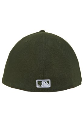 Boné New Era 59Fifty Basic Colors Green New York Yankees Ve...