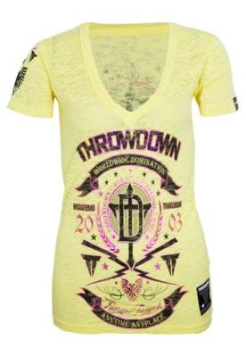 Blusa Throwdown Shap Edge Amarela