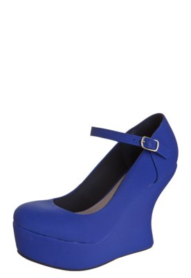 Sapato Scarpin Pink Connection Stage Azul