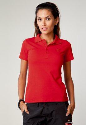 Camisa Polo Flamengo Colors Vermelha - Olympikus