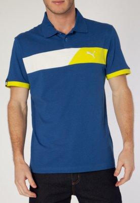 Camisa Polo Puma SPorts Casual Color Azul