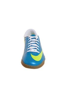 Chuteira Futsal Nike Mercurial Vortex IC Azul/Verde