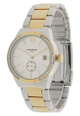 Relógio 76199LPMTBS2 Misto Dourado/Prata - Mondaine