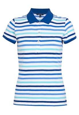 Camisa Polo Gant Preppy Piquê Azul