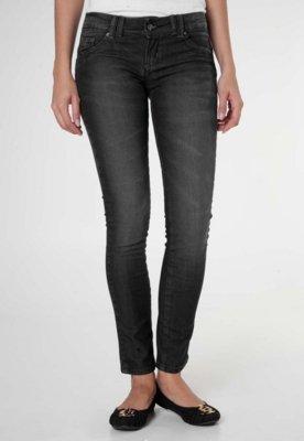 Calça Jeans Anna Flynn Basic Preta