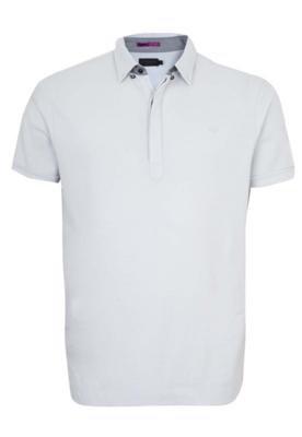 Camisa Polo Richards Grey Cinza