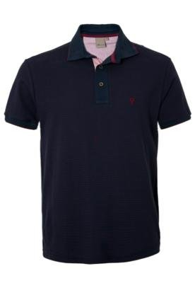 Camisa Polo VR Listras Azul