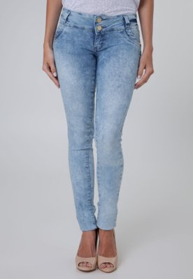 Calça Jeans Sawary Skinny Del Azul