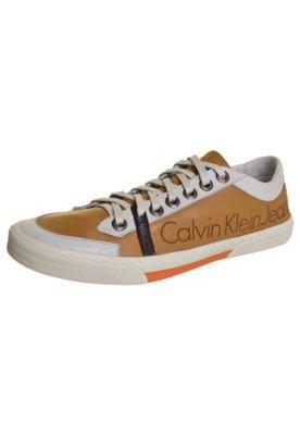 Tênis Calvin Klein Jeans Urban Bege