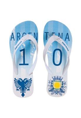 Chinelo Cavalera Argentina Branco