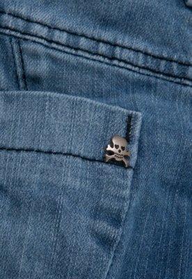 Calça Jeans Sawary Infantil Skinny Famous Azul