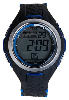 Relógio Cosmos OS41271A Preto e Azul