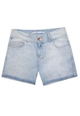 Bermuda Jeans Cantão Free Azul