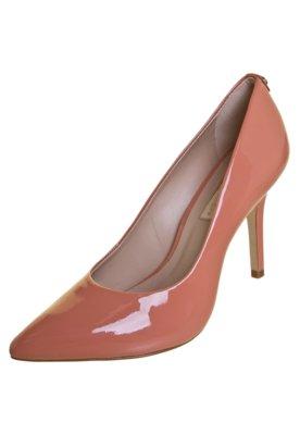 Sapato Scarpin Jorge Bischoff Bico Fino Liso Rosa