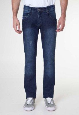 Calça Jeans Biotipo Terceira Dimensão Azul