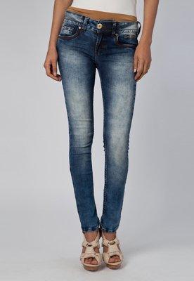 Calça Jeans Skinny Colcci Katy Earth Azul