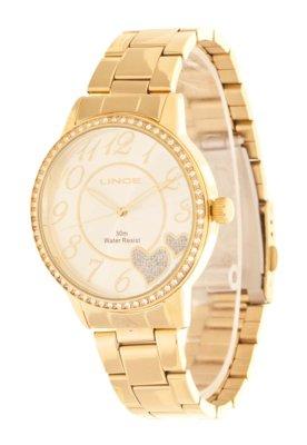 Relógio Lince LRG4184L S2KX Dourado