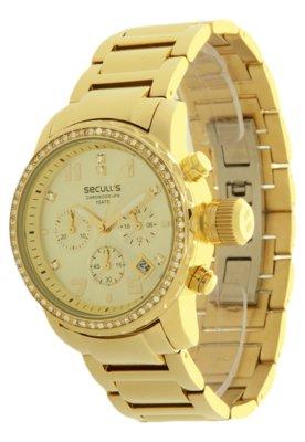 Relógio Seculus 28208LPSGDS1 Dourado