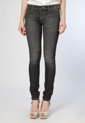 Calça Jeans Skinny TNG Norah Preta