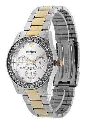 Relógio 78138LPMGBS2 Misto Prata/Dourado - Mondaine