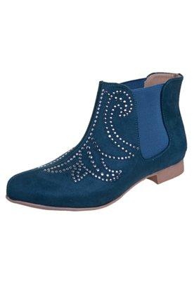 Bota Chelsea Zatz Hotfix Azul