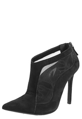 Ankle Boot My Shoes Tela Preta