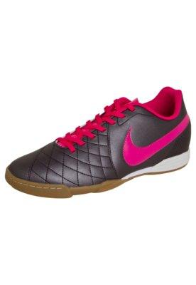 Chuteira Futsal Nike Flare IC Cinza