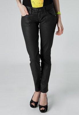 Calça Jeans Coca Cola Clothing Elástica Resinada Skinny Pr...