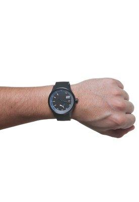 Relógio Counter Titanium Preto/Azul - Puma