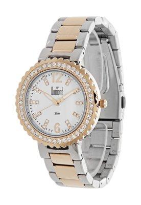 Relógio Dumont SK75011P Prata e Dourado