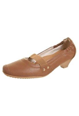Sapato Scarpin Piccadilly Salto Baixo Mary Jane Elástico Ma...
