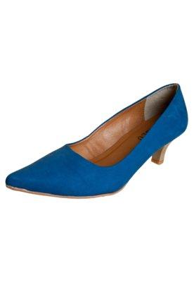Sapato Scarpin Lady Azul - FiveBlu