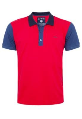 Camisa Polo Sommer Mini Duo Vermelha