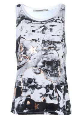 Blusa Espaço Fashion Stone Branca