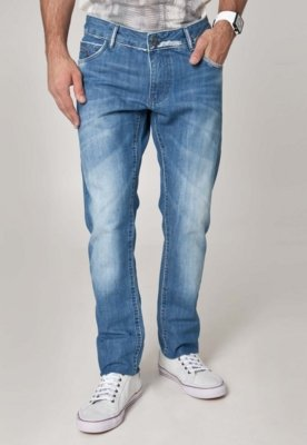 Calça Jeans Sawary Reta Life Azul