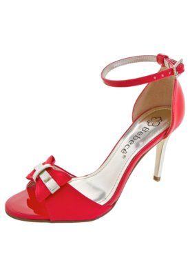 Sandália Bebecê Laço Pulseira Vermelha