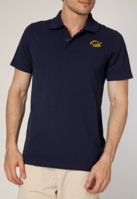 Camisa Polo Pelé SPorts Core Azul - Pele SPorts
