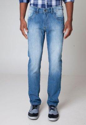 Calça Jeans Lemon Grove Reta Vida Azul