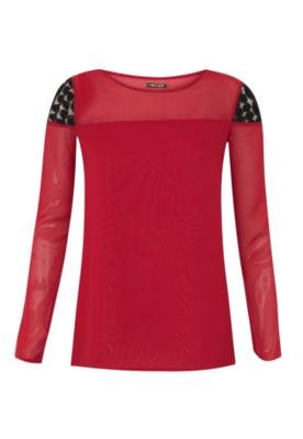 Blusa Reta Romantic Vermelha - Sommer