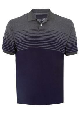 Camisa Polo Pier Nine Gary Cinza