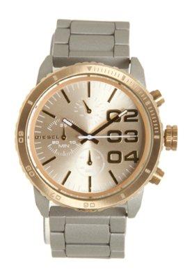 Relógio Diesel IDZ5303Z Cinza/Dourado