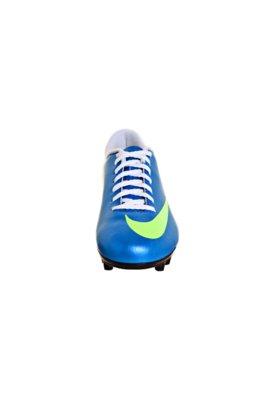 Chuteira Campo Nike Mercurial Vortex FG EMB Azul