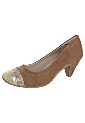 Sapato Scarpin Salto Médio Biqueira Marrom - Dakota