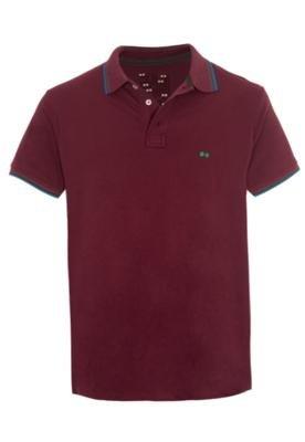 Camisa Polo Wöllner Original Vinho