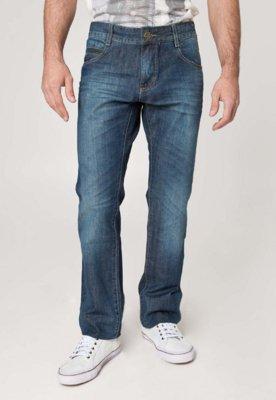 Calça Jeans Sawary Reta Easy Azul