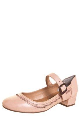 Sapato Scarpin Cravo & Canela Saltinho Mary Jane Rosa